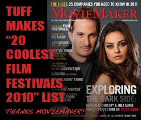 TUFF makes MovieMaker 20 Coolest Film Festivals