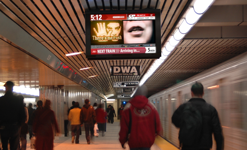 The Messiah with the Right Credentials by Vera Frenkel on the TTC